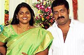 Actor Prakash Raj with first wife Lalitha Kumari